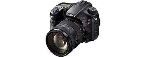 Sony SLT-A77VQ SLR-Digitalkamera (24 Megapixel, 7,6 cm (3 Zoll) Display, bildstabilisiert) Kit inkl. SAL 16-50mm DT F2.8 SSM Objektiv schwarz - 2