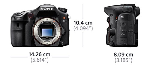 Sony SLT-A77VQ SLR-Digitalkamera (24 Megapixel, 7,6 cm (3 Zoll) Display, bildstabilisiert) Kit inkl. SAL 16-50mm DT F2.8 SSM Objektiv schwarz - 3