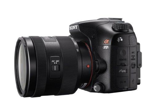 Sony SLT-A77VQ SLR-Digitalkamera (24 Megapixel, 7,6 cm (3 Zoll) Display, bildstabilisiert) Kit inkl. SAL 16-50mm DT F2.8 SSM Objektiv schwarz - 4