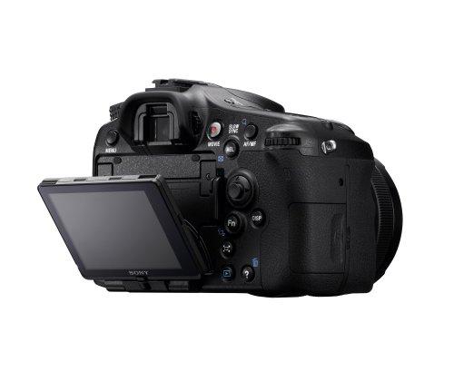 Sony SLT-A77VQ SLR-Digitalkamera (24 Megapixel, 7,6 cm (3 Zoll) Display, bildstabilisiert) Kit inkl. SAL 16-50mm DT F2.8 SSM Objektiv schwarz - 8