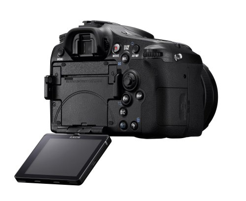 Sony SLT-A77VQ SLR-Digitalkamera (24 Megapixel, 7,6 cm (3 Zoll) Display, bildstabilisiert) Kit inkl. SAL 16-50mm DT F2.8 SSM Objektiv schwarz - 9